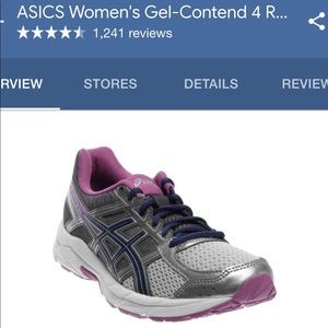 ASICS gel-contend 4 shoes